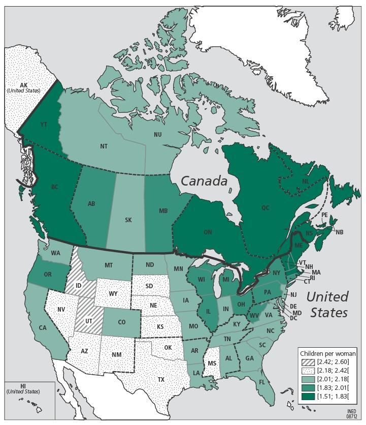 The demography of canada and the united states from the 1980s to the figure 10 figure 10 publicscrutiny Images
