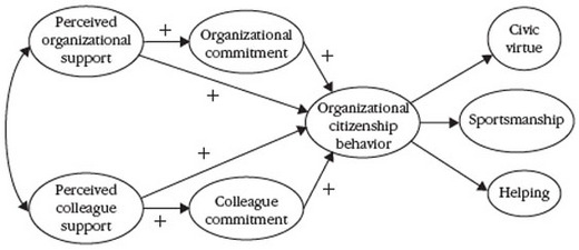 organisational behaviour ocb and cwb Istence of organizational citizenship behaviour (ocb) with counterproductive work behaviour (cwb),  mal and formal organisational networks.
