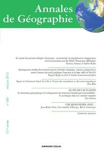Annales de géographie 2012/3
