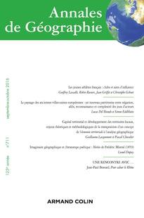 Annales de géographie 2016/5