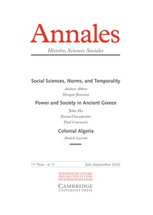 Super Contexts and temporalities in Andrew Abbott's processual sociology &TH_67