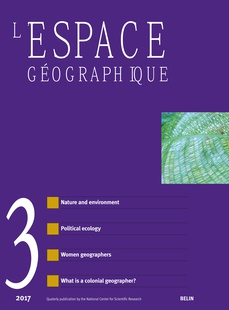 What is a colonial geographer? Jean Brunhes, irrigation and human ...