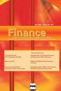 Finance 2012/1