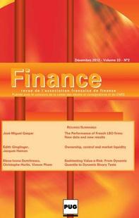 Finance 2012/2
