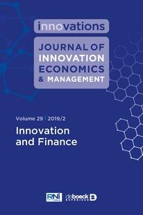 Journal Journal of Innovation Economics & Management   Cairn