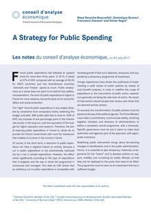 Notes Du Conseil Du0027analyse économique 2017/7