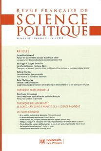 The Publishing Strategies of French Political Scientists