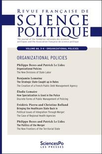 Revue française de science politique 2016/3