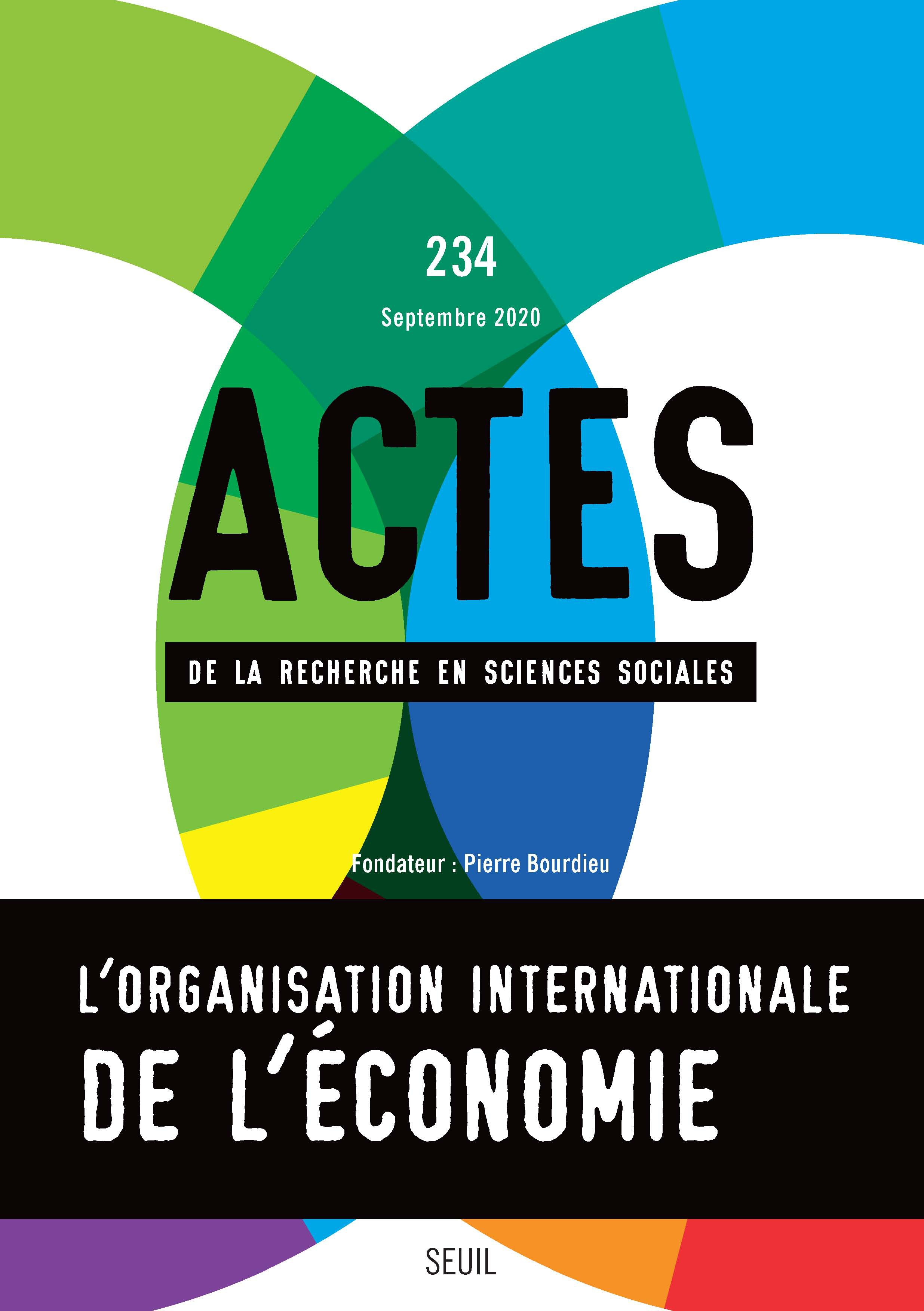 Journal Actes De La Recherche En Sciences Sociales Cairn International Edition