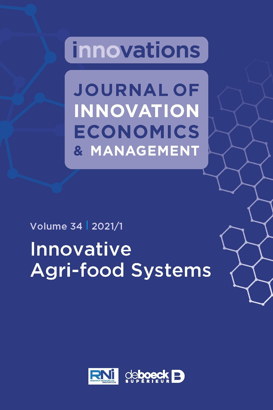Journal Journal Of Innovation Economics Management Cairn International Edition