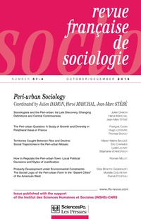 Sociologists And The Peri Urban Cairn International