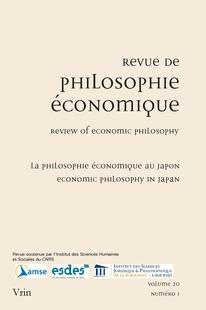 Japanese Economic Philosophy An Introduction Cairn